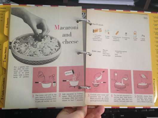 And just in case the box isn't clear enough, here is the recipe for making boxed macaroni and cheese!